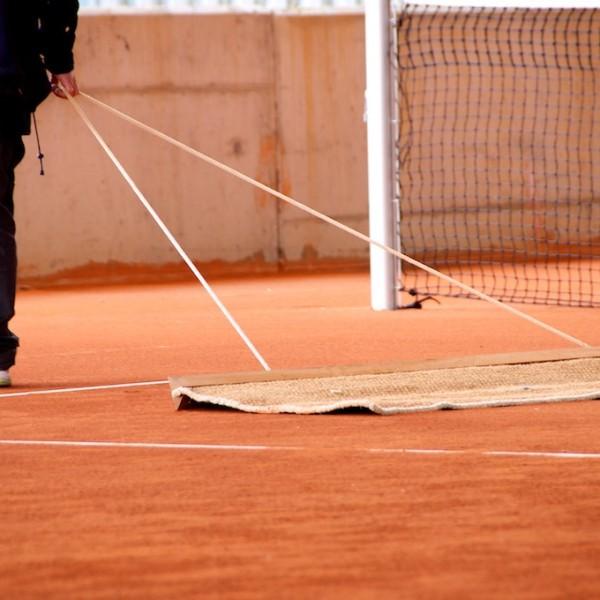 Mantenimiento pistas de tenis