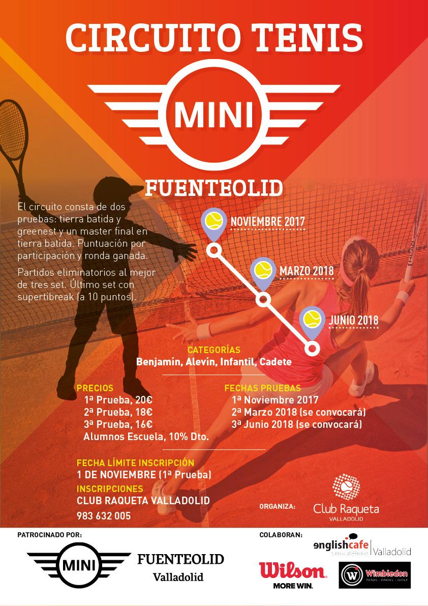 Circuito Tenis : Circuito tenis mini fuenteolid club raqueta valladolid